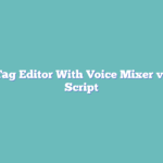 Mp3 Tag Editor With Voice Mixer v5 PHP Script