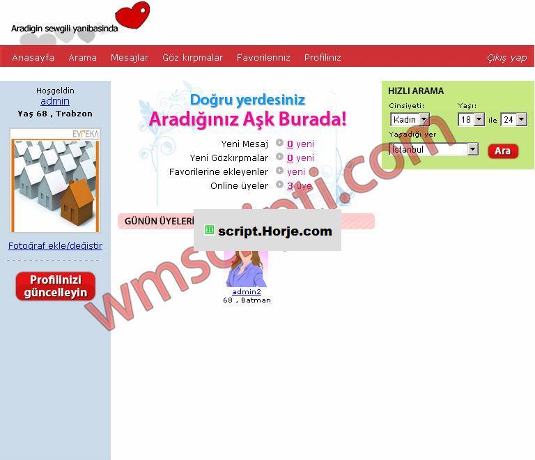 IstanbulNET v1.0 Friendship PHP Script