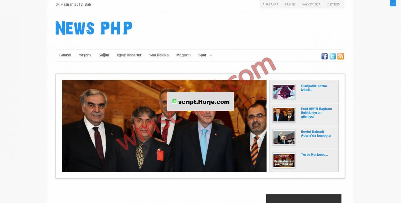News PHP News PHP Script