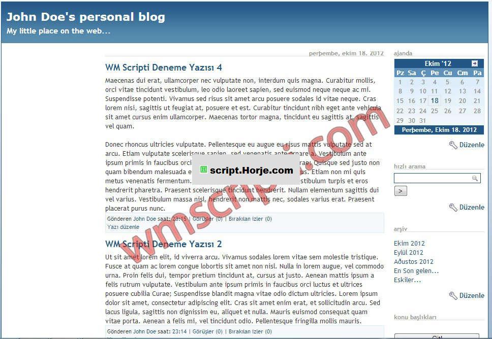 Serendipity v1.6.2 Blog PHP Script