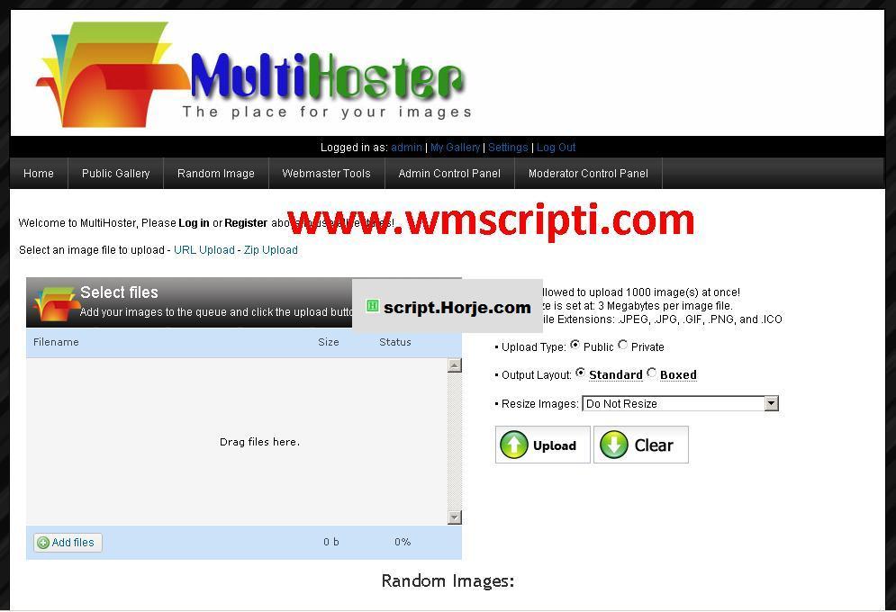 Mihalism Multi Host v5.0.4 File Upload PHP Script