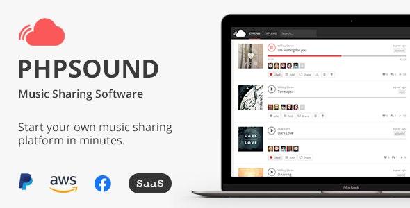 phpSound v6.2.0 – Music Sharing Platform – nulled PHP Script