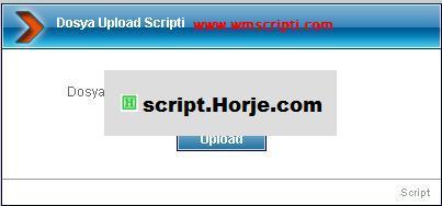 Simple File Upload PHP Script