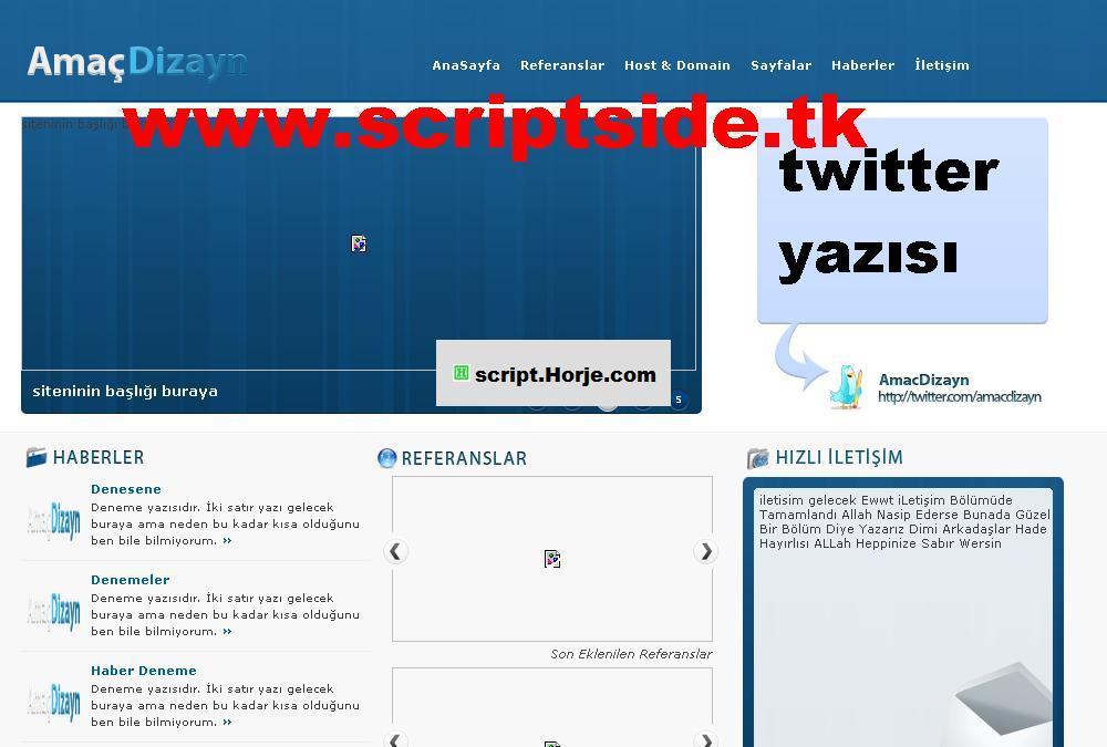 Yılmazsoft Office-Firm PHP Script