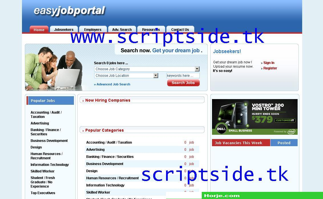 EasyJobPortal Business Directory PHP Script
