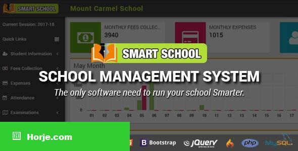 Smart School v5.2.0 – School Management System – nulled PHP Script