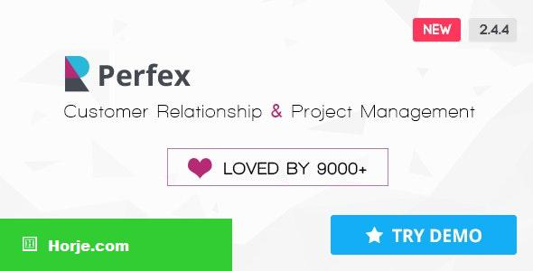 Perfex v2.4.4 – Powerful Open Source CRM PHP Script