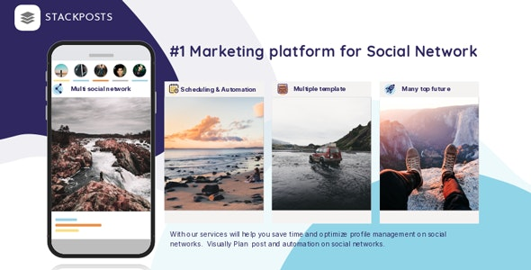 Stackposts v7.0.1 – Social Marketing Tool – nulled PHP Script