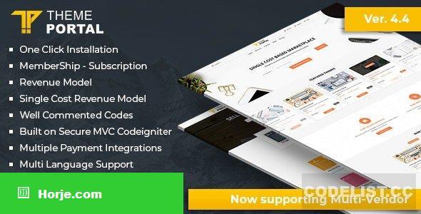 Theme Portal Marketplace v4.5 – nulled PHP Script