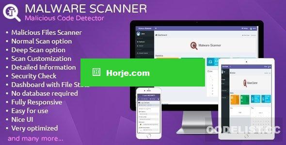 Malware Scanner v1.2 – Malicious Code Detector PHP Script