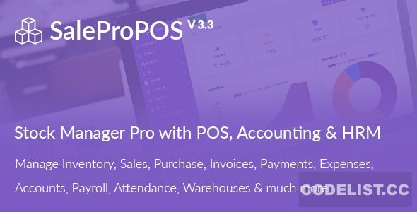 SalePro v3.3 – Inventory Management System with POS HRM Accounting – nulled PHP Script
