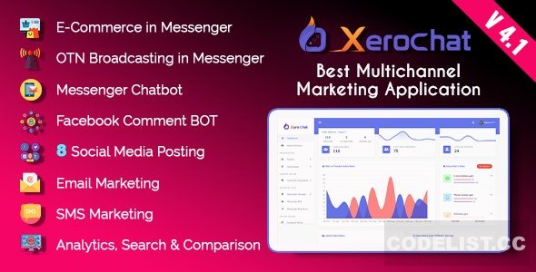 XeroChat v4.1 – Best Multichannel Marketing Application (SaaS Platform) – nulled PHP Script