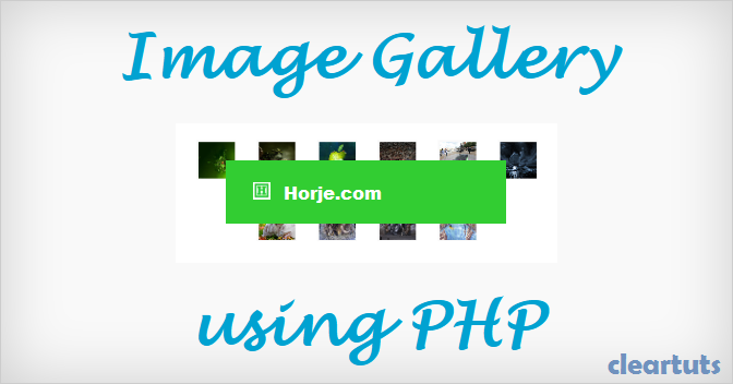 PHPicture v1.4 Image Gallery PHP Script
