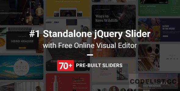 Master Slider v2.51.2 – jQuery Slider Plugin with Visual Builder PHP Script