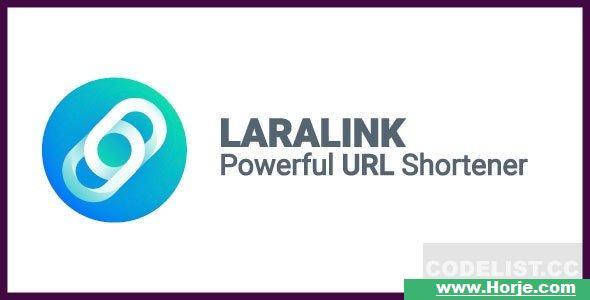 Laralink v1.2.0 – Powerful URL Shortener PHP Script
