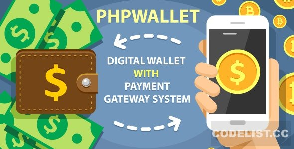 phpWallet v3.4 – e-wallet and online payment gateway system PHP Script