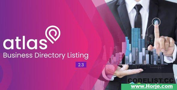 Atlas v2.3 - Business Directory Listing - nulled
