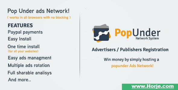 Pop Under Ads Network – Project Management Tools PHP Script – Download Nulled