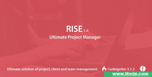 RISE v1.6 – Ultimate Project Manager PHP Script – Download Nulled