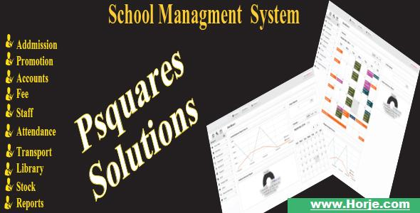 Psquares school management system PHP Script – Download Nulled