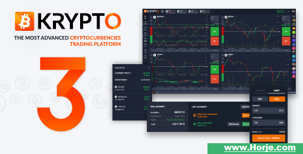 Krypto v3.0.0 – Live Trading, Advanced Data, Market Analysis, Watching List PHP Script – Download Nulled