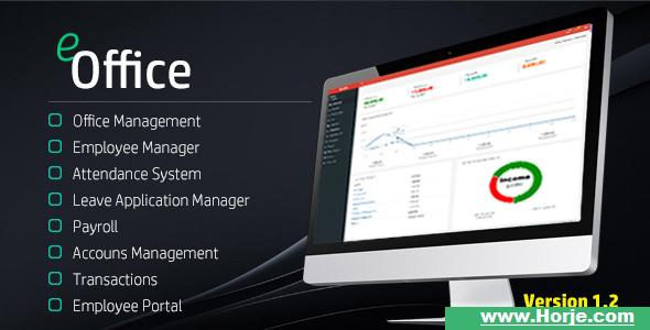eOffice CRM v1.2 – (Accounts, HRM, Inventory, Sales) PHP Script – Download Nulled
