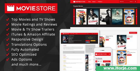 MovieStore v1.1 – Movies and TV Shows Affiliate Script PHP Script – Download Nulled