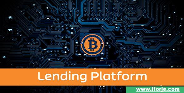 Lending – Bitcoin Lending Platform PHP Script – Download Nulled