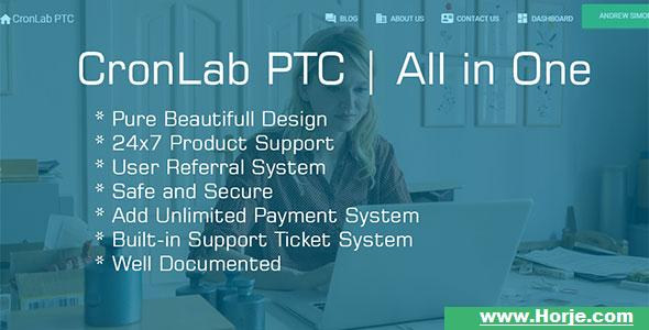 CronLab PTC v2.2 – All in One Script for PTC, HyIp, Crypto Trade & Money Investment PHP Script – Download Nulled