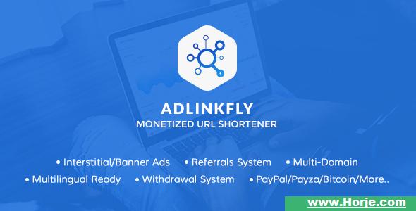 AdLinkFly v5.3.0 – Monetized URL Shortener PHP Script – Download Nulled