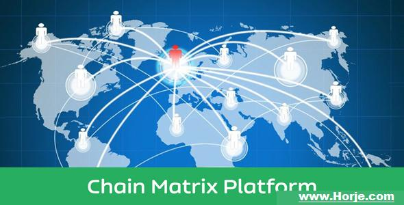 cMATRIX – Chain Matrix Business Platform PHP Script – Download Nulled