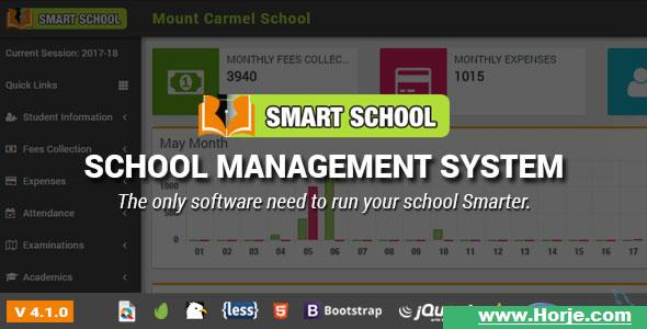 Smart School v4.1.0 – School Management System PHP Script – Download Nulled