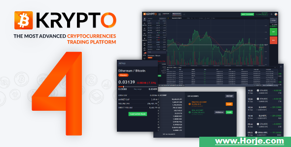 Krypto v4.1 – Live Trading, Advanced Data, Market Analysis, Watching List, Portfolio, Subscriptions PHP Script – Download Nulled