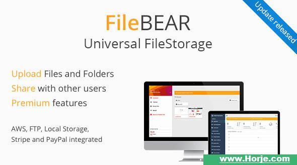 FileBear v1.7 – Premium File Sharing PHP Script – Download Nulled