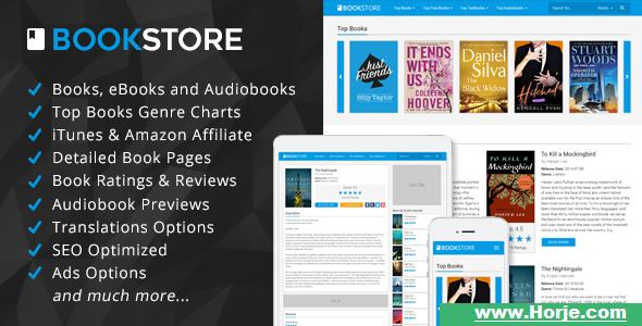 BookStore v1.3 – Books, eBooks and Audiobooks Affiliate Script PHP Script – Download Nulled