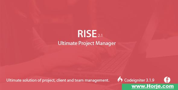 RISE v2.11 – Ultimate Project Manager – nulled PHP Script – Download Nulled