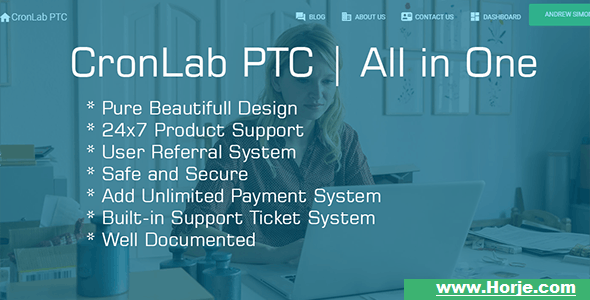 CronLab PTC v3.0 – All in One Script for PTC, HyIp, Crypto Trade & Money Investment PHP Script – Download Nulled