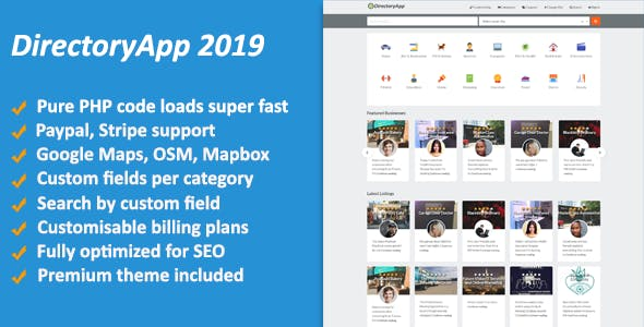 Directoryapp v1.09 – Business Directory PHP Script – Download Nulled