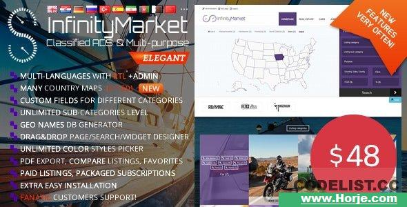 Infinity Market v1.6.6 – Classified Ads Script PHP Script – Download Nulled