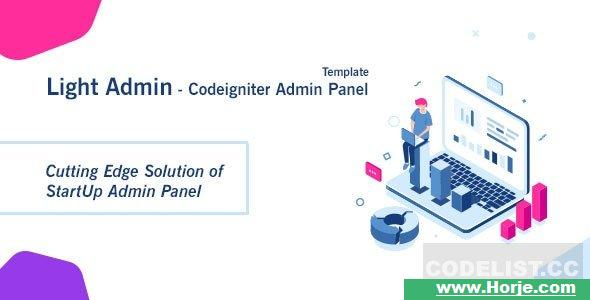 CI StartUp Admin Panel Template + Login Auth v1.0 PHP Script – Download Nulled