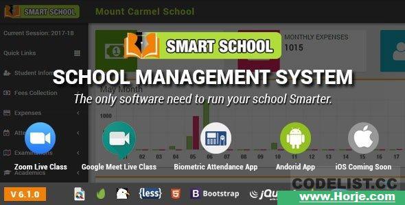 Smart School v6.1.0 – School Management System – nulled PHP Script – Download Nulled