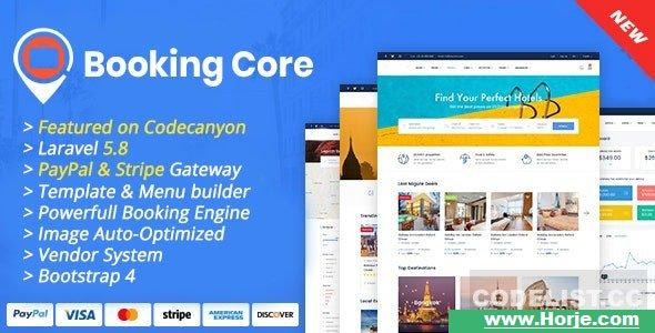 Booking Core v1.9.1 - Ultimate Booking System